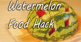 Better Way to Cut and Eat Watermelon