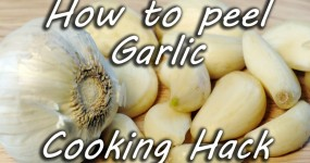 How to Peel a Garlic Better than Your Grandma