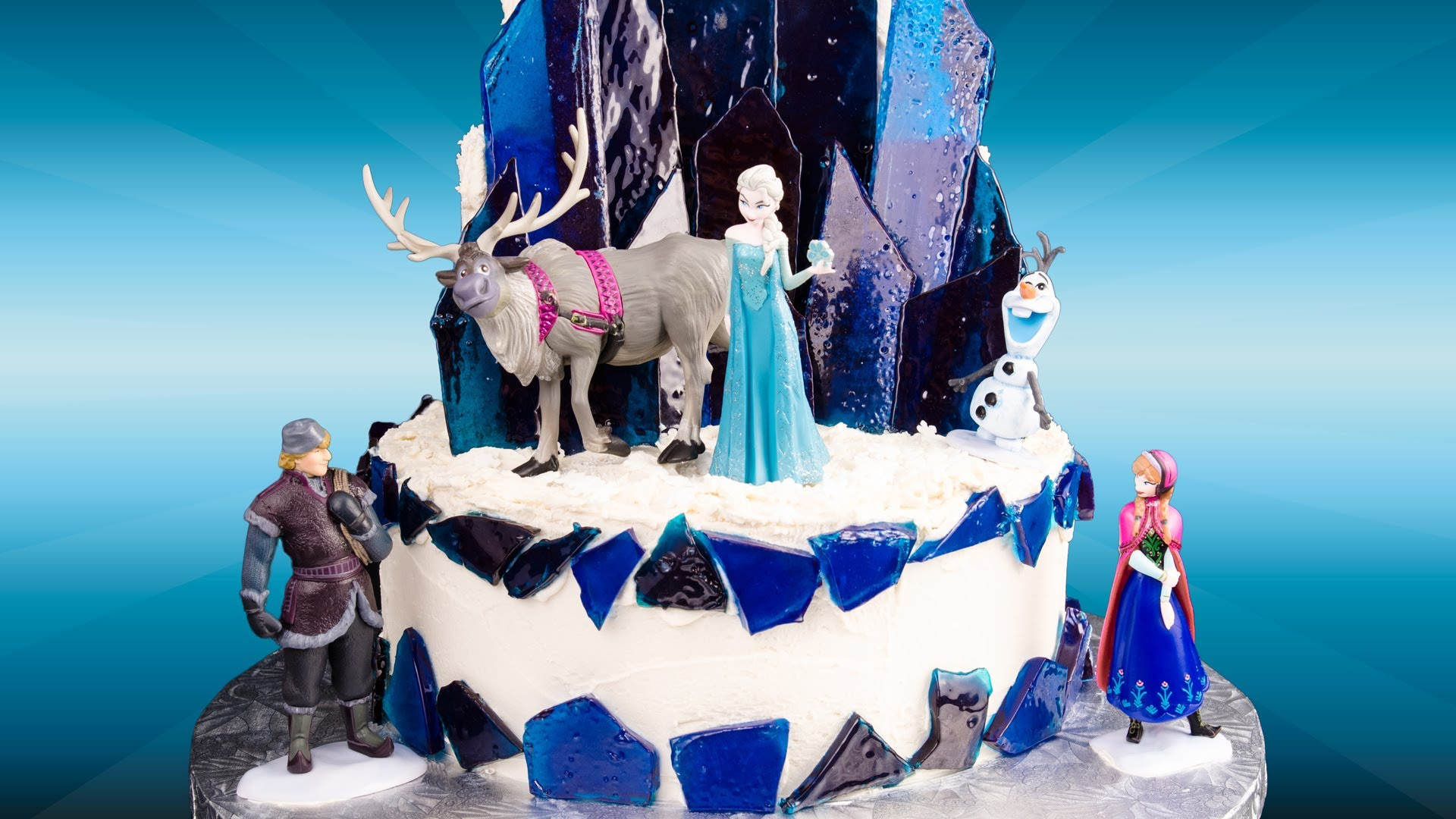 Can U Ice A Frozen Cake